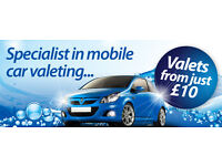 Mobile Valeting Service in & out £10!!!!