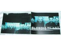 BLONDIE COMEBACK TOUR PROGRAMME ~ RARE