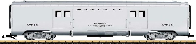 LGB 36579 G Santa Fe Baggage Car