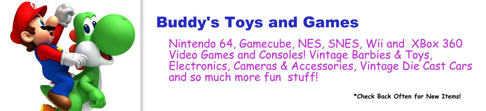 Buddys Toys and Games