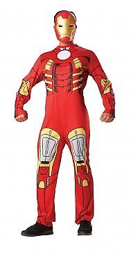 "Rubie's Iron Man Costume - Adult Standard (38"" to 42"")"