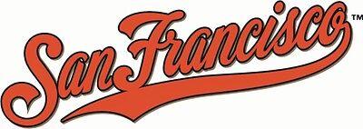 San Francisco Giants #9 MLB Team Logo Vinyl Decal Sticker Car Window Wall