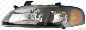 Head Lamp Driver Side Ser High Quality Nissan SENTRA 2002-2003
