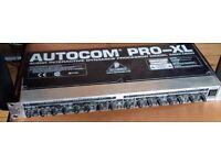 BEHRINGER AUTOCOM PRO XL COMPRESSOR/LIMITER MDX 1600