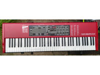 Nord Electro 3 HP 73 note, piano weighted keys, excellent condition