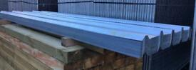 🗺New Galvanised Box Profile Roof Sheets X 100