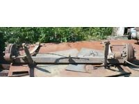 Ford Transit T280 rear axle, with springs, £80 ono