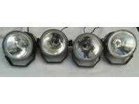 QTY 4, BOTEX SPQ-4 STROBE LIGHTING, PERFECT WORKING ORDER.