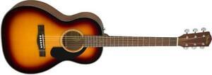 Parlor, Fender Top solide   CP60S Sunburst  0970120032