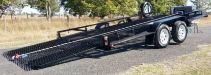 $70/day HIRE - 3T TILT / RECOVERY CAR TRAILER, 5T Wireless Winch
