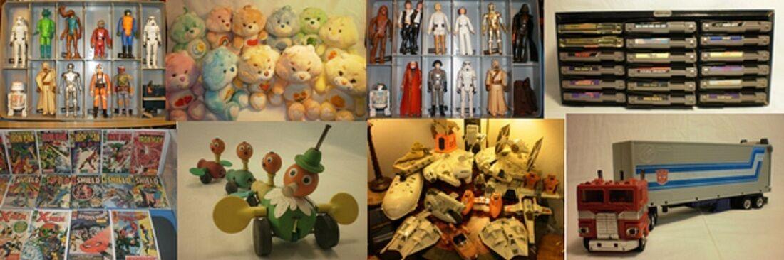 Vintage Toys, Collectibles, & Media