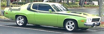 1974 Plymouth Road Runner  Plymouth Road Runner Factory A/C and 4-Speed Hurst Pistol Grip