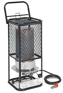Radiant Propane Heaters. 125k BTU. Space Heater with +20ft Hose