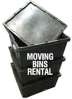 Plastic Moving Totes / Boxes Rentals