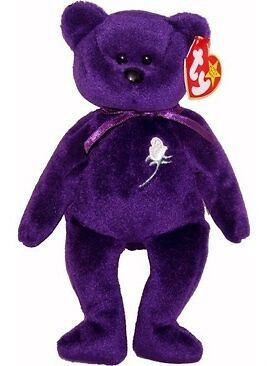 Princess Diana Beanie Baby Bear 2nd Ed #2 1997 PE China MWMT True History Here