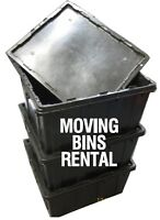Plastic Moving Totes For Rent