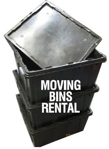 Plastic Moving Totes Rentals