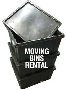 Plastic Moving Bins For Rent
