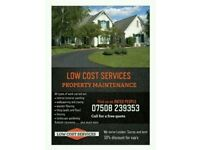 LOW COST PROPERTY MAINTENANCE