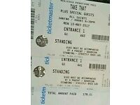 Take That Tickets - 2 x standing Dublin