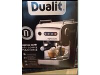 Dualit Espress-auto coffee maker