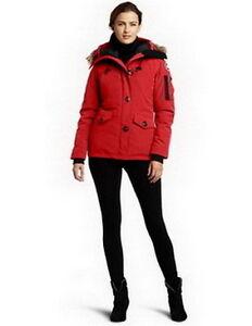 Canada Goose Women Montebello Parka Red
