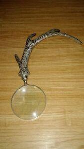 Iron antler magnifying glass