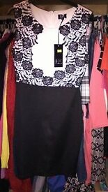 Ladies size 12 dress brand new with tags on