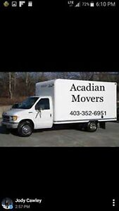 ACADIAN MOVERS ... 403-352-6951