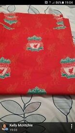 Liverpool fc bedroom curtains