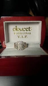 Holiday Gift for your sweetheart- Gold Princess cut diamonds