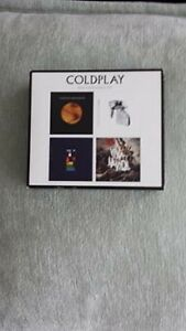 COLDPLAY 4 STUDIO ALBUM CD BOXED SET ! BRAND NEW !