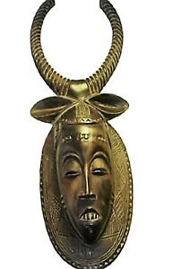 Masque Africain Ancestrale Collectible Mask Vintage Beule Africa