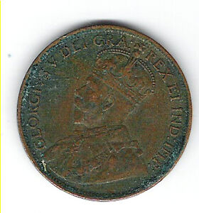 Coin 1916 Canada 1 Cent Penny Kingston Kingston Area image 1