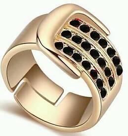 New Ladies Diamond Design Ring