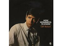 Cliff Richard How Wonderful To Know vinyl album