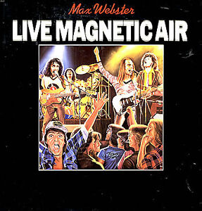 Max Webster-Live Magnetic Air lp/vinyl