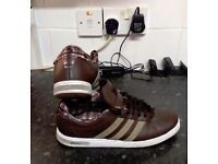 MENS ADIDAS NEO TRAINERS SIZE 9