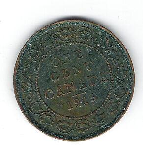 Coin 1916 Canada 1 Cent Penny Kingston Kingston Area image 2