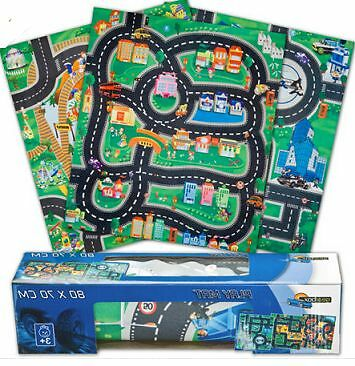 Car & Road Playmat  Roll up Role Play gift