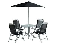 4 Seater Metal Patio Furniture Set