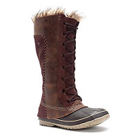 BNIB SOREL - Cate the Great - Tobacco Suede - Size 8