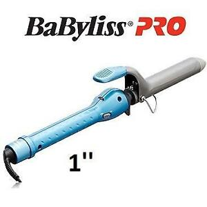 NEW  BABYLISS PRO CURLING IRON 1 BABNT100SN 237225828 NANO TITANIUM AND CERAMIC