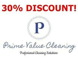 30% DISCOUNTS. Domestic, Commercial and Specialised Cleaning.CARPET/WINDOW/OVEN/AFTER BUILDERS/EOT