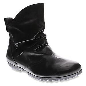 Spring Step Ulzana Black Leather Women's Shoes - Size 10