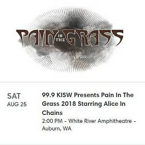Pain in the Grass - August 25th **BELOW COST**