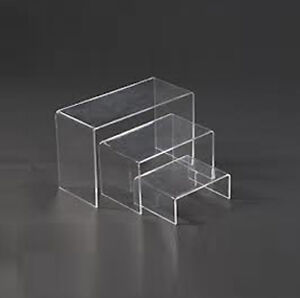 riser/ acrylic riser/ set of riser/ acrylic / shoe shelf