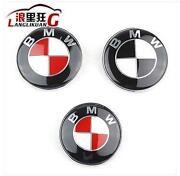 BMW Emblem Red Black