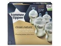 Brand new tommee Tippee feeding bottles
