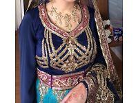 Wedding Bridal Indian Lengha- beautiful and stunning..three piece